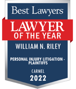 William N. Riley - Best Lawyer 2022 in the area of Personal Injury Plaintiff litigation